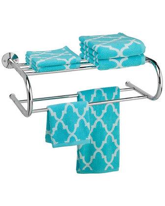 Wall Mount Towel Rack Chrome