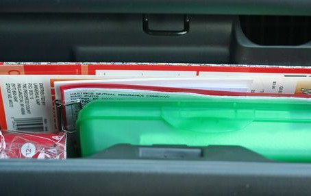 It's The Little Things: Challenge 10- Clear Your Car Clutter