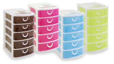 Mini Stackable 5 Drawer