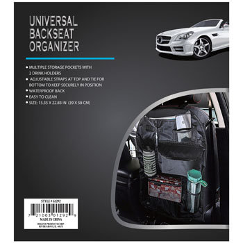 Universal Backseat Organizer