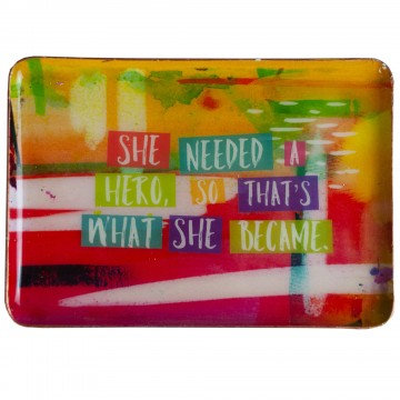 She Needed a Hero Catchall Plate