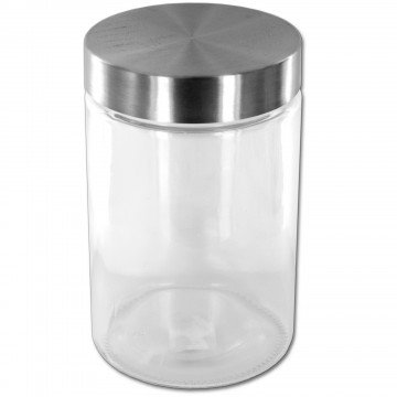 58 oz. Large Screw Top Glass Container