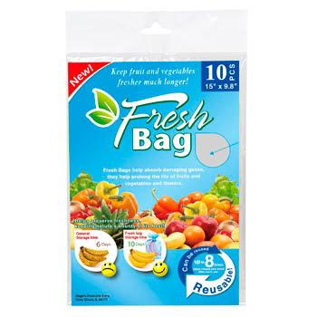 10pk Fresh Produce Bag