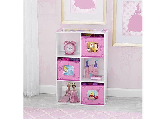 Princess 6 Cubby Storage Unit