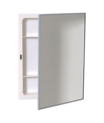 SS Frame Medicine Cabinet with Plastic Body