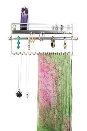 wall-mounting jewellry organiser