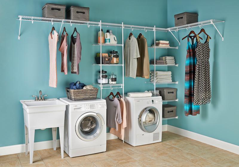 Laundry Room Shelving