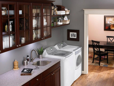 3 Laundry Room Trends We're Loving in 2018