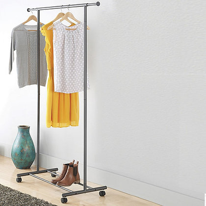 Gunmetal Exp Garment Rack