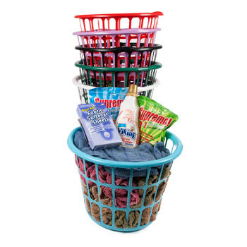 "11.25"" Round Laundry Basket"