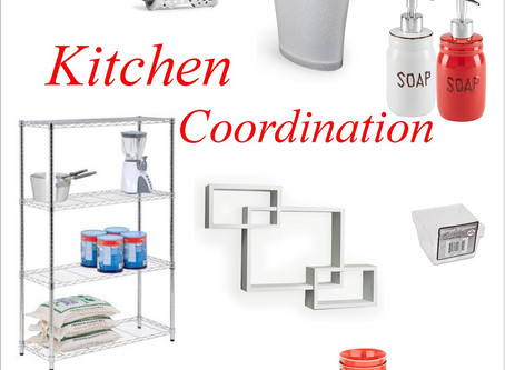Mood Board: Kitchen Coordination