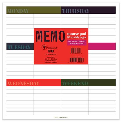 Weekly Memo Desk Pad