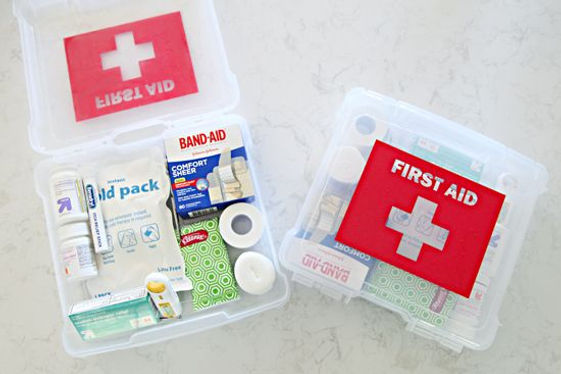Make It! - a First Aid Kit | Sort Your Stuff Barbados