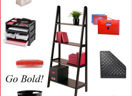 Mood Board: Go Bold in Your Home Office