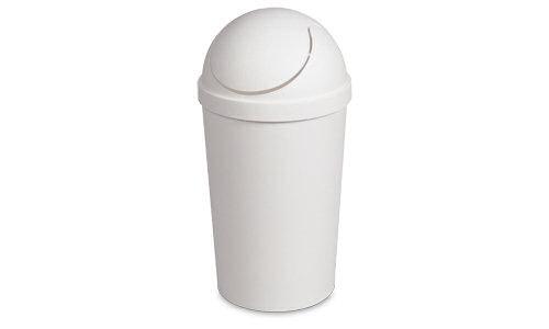 small swing-top waste bin