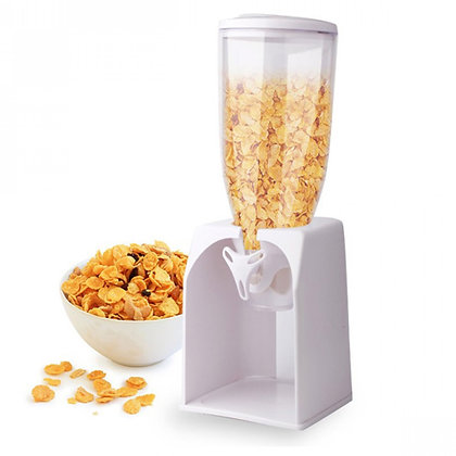 White Cereal Dispenser