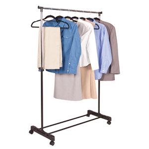 Chrome Garment Rack
