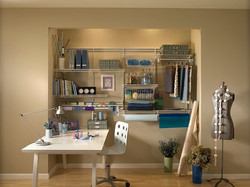 Craft Room using Ventilated Shelving