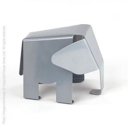 Hannibal Bookend-Silver