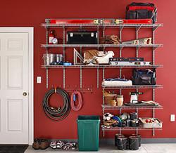 Heavy-Duty Garage Storage