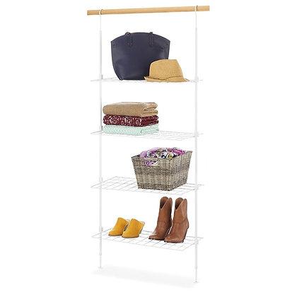 Over the Rod Closet Shelves