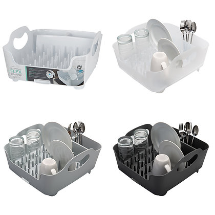 1 Pc Self Draining Dish Rack with Cup