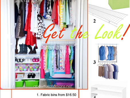 Get the Look- Closets