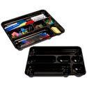 Drawer Organiser Plastic Black