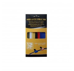 12 Pk Cable Ties