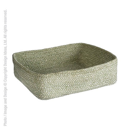 Melia Basket-12x9.5x3-Sage