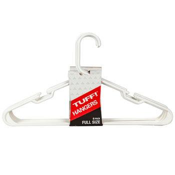 Hangers Tubular White