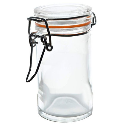 100ml Glass Locking Jar