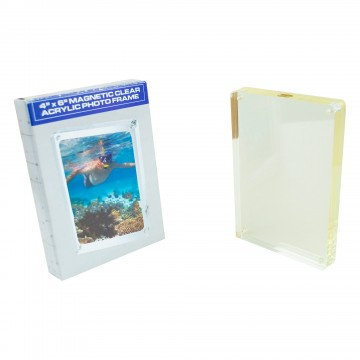 4x6 Magnetic Clear Acrylic Photoframe