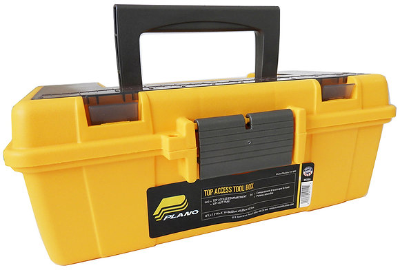 """Plano 13"""" Toolbox With Lift Out Tray"""