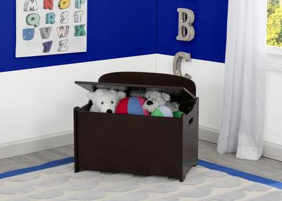 GN Toy Box with Back Dark Chocolate