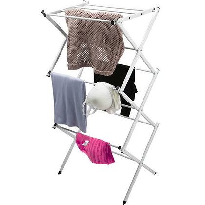 Compact 3 Tier White Dryer Rck