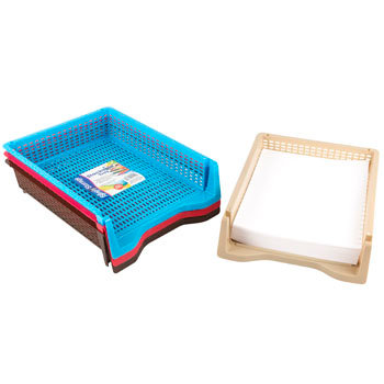 Letter Size Tray Asst