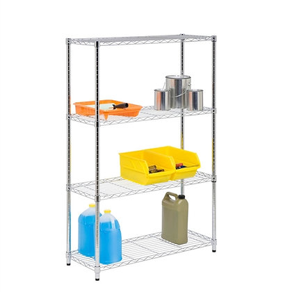 4 Tier Chrome Shelf