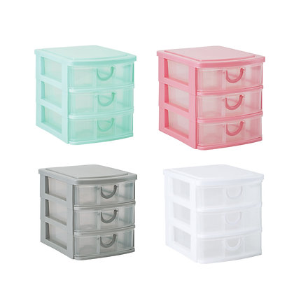 Mini Stackable 3 Drawer