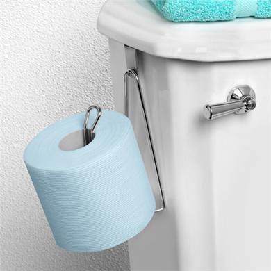Over Tank Single Roll Tissue Holder
