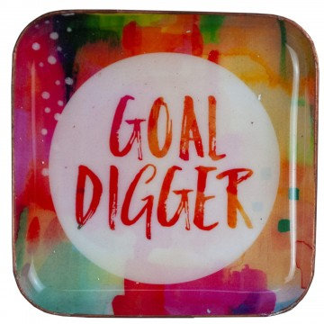 Goal Digger Small Catchall Plate