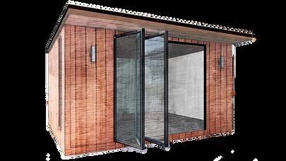 Natural timber pod