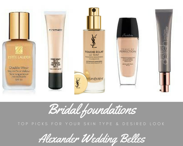 Best Bridal Foundations