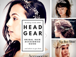 Our pick of bridal hair accessories this season (and where to get them!)