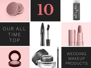 Top 10 wedding day make up products