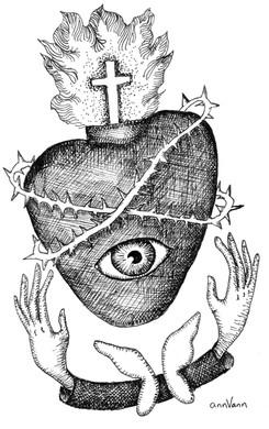 SACRED HEART | EVIL EYE