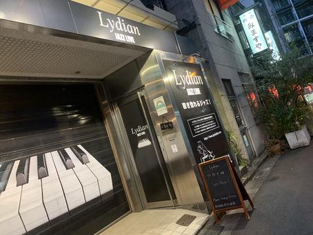 神田 Lydian にて初ソロピアノライブ