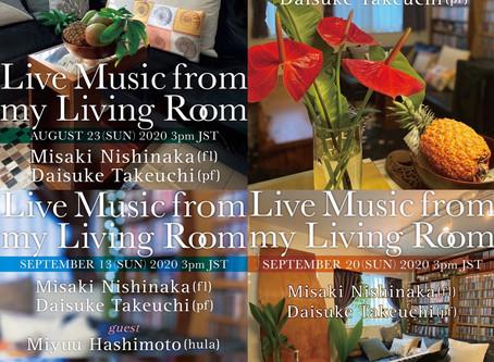 西仲美咲×竹内大輔 Living Room Live