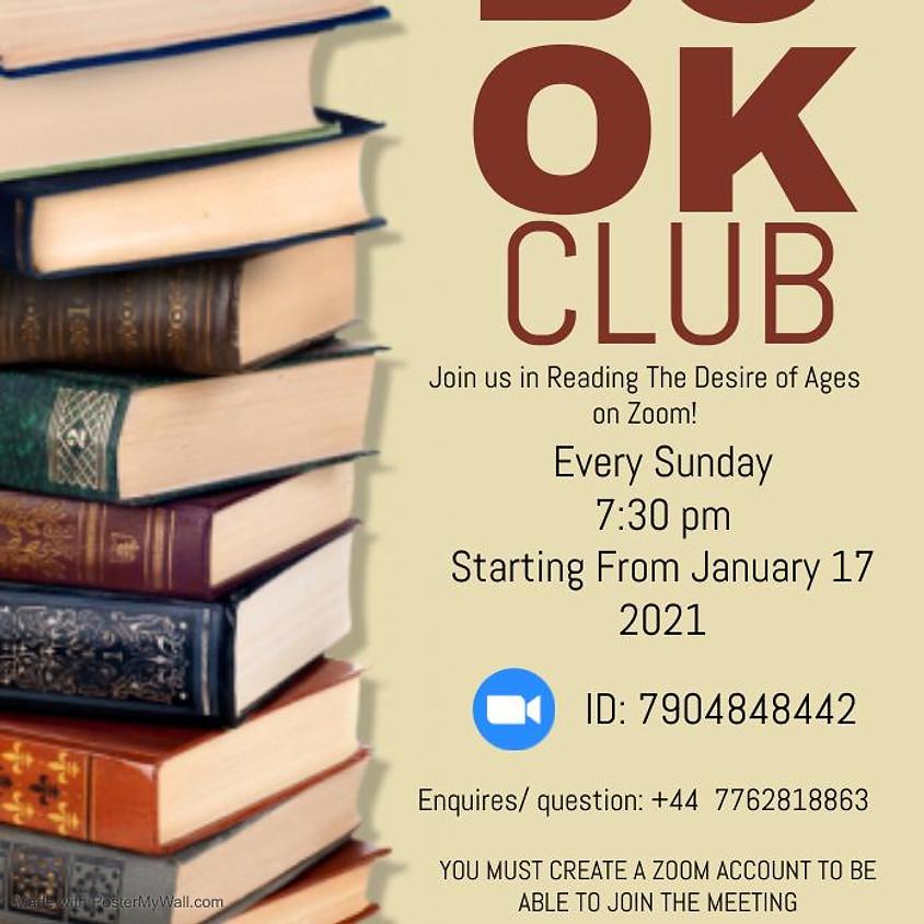 Teens of Faith Ministry Book Club