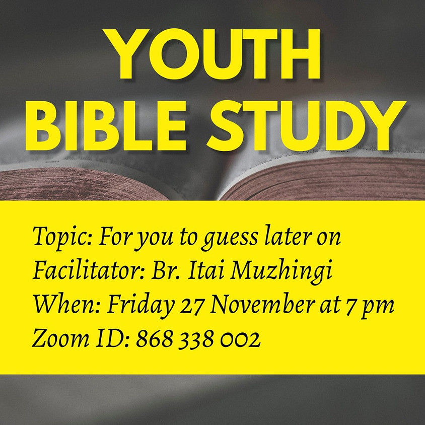 Oxford Youth Bible Study